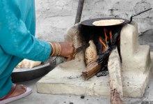 Traditional firewood chullah