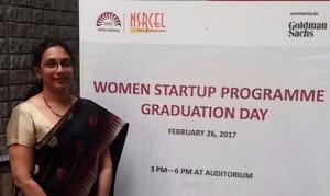 Amrutha Valli at IIM Bangalore